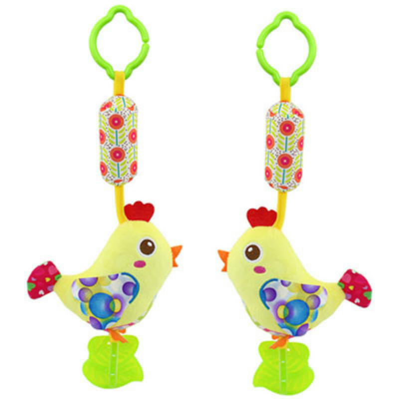 2017 Baby plush rattle mobile musical with teether brinquedos juguetes bebes jouet early educational stroller crib toys