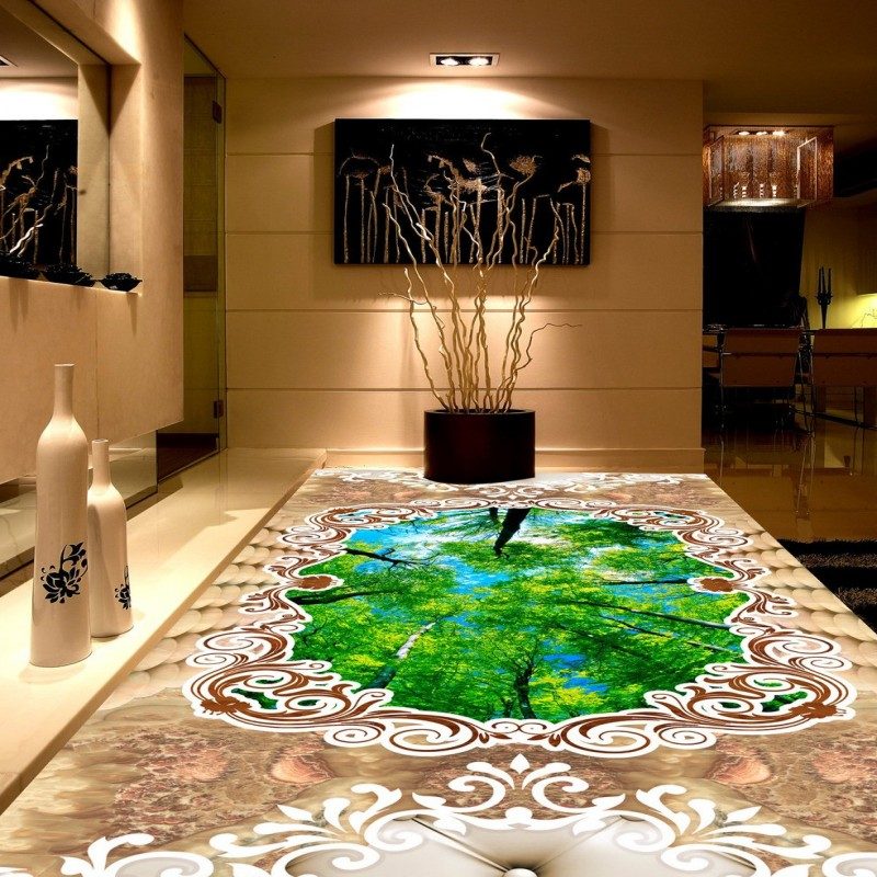 Free Shipping Marble parquet thickened non-slip floor conference living room high-quality custom wallpaper bedroom mural free shipping custom floor mural thickening waterproof living room children room wallpaper marble texture parquet 3d floor