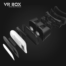 VR BOX upgrade enhanced version of mobile phone play version 3D glasses virtual reality game helmet mirror Storm 3