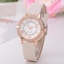 Quartz Watch Bracelet Watches  Diamond Flower Wristwatch Ladies  Clock Calendar relogio feminino Fashion Charm WrapRole QuartzM3