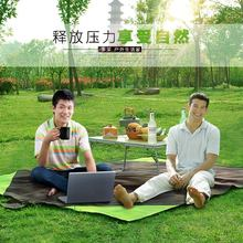 Outdoor easy to clean hiking picnic mat moisture pad widened to increase waterproof tent camping mat beach with high quality