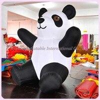 Горячая Распродажа 2015 г. симпатичный надувной панда для рекламы