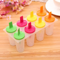 4 Different Colors 8 Cell Ice Cube Molds Popsicle Maker Lolly Mould Tray Pan Kitchen DIY Ice Cream Tools Cooking Tools -42