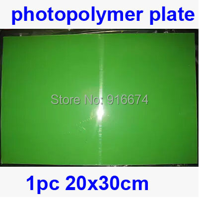 Free Shipping CHEAP 1pc 20cmx30cm Photopolymer Plate Stamp Making DIY Letterpress Polymer Stamp Maker Systerm fast free shipping hot 5pcs 40cmx60cm photopolymer plate stamp making diy letterpress polymer stamp maker systerm