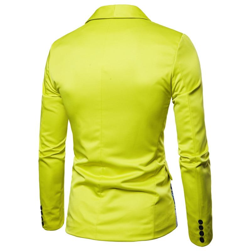 YUNCLOS мужской пиджак в национальном стиле, блейзер для свадебной вечеринки, модный вечерний пиджак с принтом, приталенный мужской пиджак с воротником-шалью