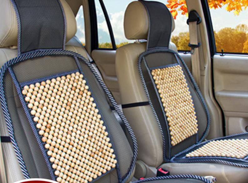 just 1 pcs 2015 summer cushion wooden bead cushions seat cushions universal car seat cover front. Black Bedroom Furniture Sets. Home Design Ideas