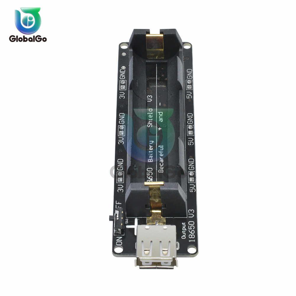 ESP32 ESP32S V3 type-a Micro USB 18650 carte de protection de Charge de batterie connecteur de support de batterie pour Wemos pour Raspberry Pi