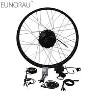EUNORAU EBIKE DIY 36V500W shengyi DGW25C cassette rear Electric Bicycle Fat Conversion Kit 20''26 Wheel Motor 175mm open size
