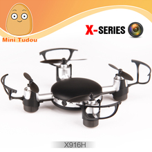 Minitudou Mini Quadrocopter MJX X916H 2.4G 4CH RC Drone FPV Quadcopter With Camera 0.3MP Flying Toy Helicopter