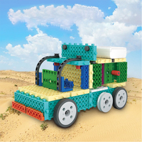 STEM DIY Truck Electronic Building Block Educational Science Experiment Toys Kit Learning Education Toys for Children Gift