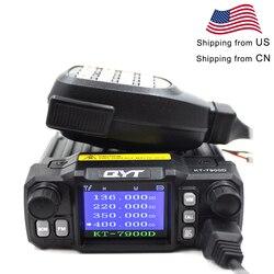 QYT Mini Radio KT-7900D 25W Quad Band 136-174/220-260/350-390/400-480MHZ KT7900D woki toki