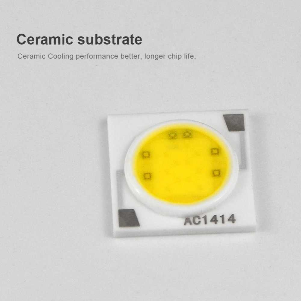 Ceramics Cooling LED COB Chip light Source 3W 5W 7W 9W 220V LED Bulb light Matrix Module IC Driver DIY Spot light Floodlight