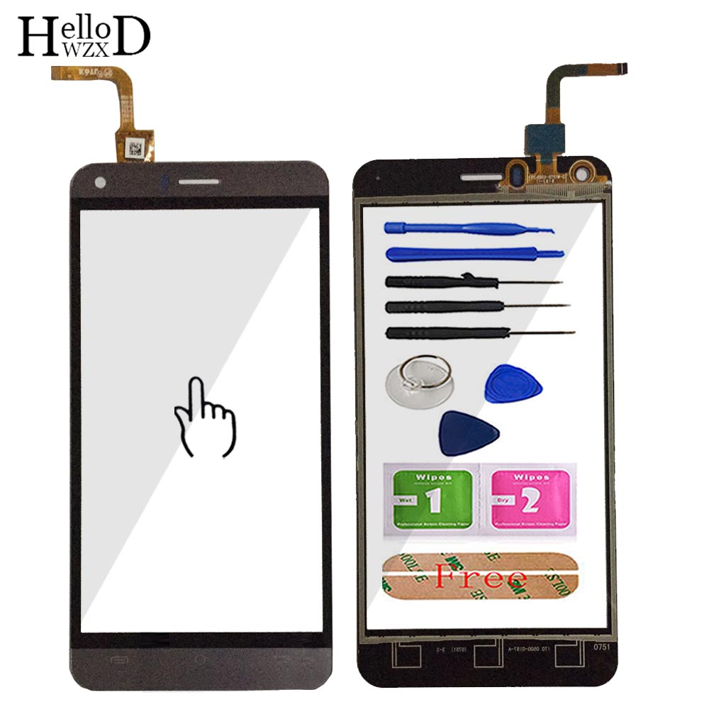 5.0'' Mobile Phone Touch Glass Touch Screen For Cubot Manito Touch Screen Glass Digitizer Panel Lens Sensor Tools Adhesive