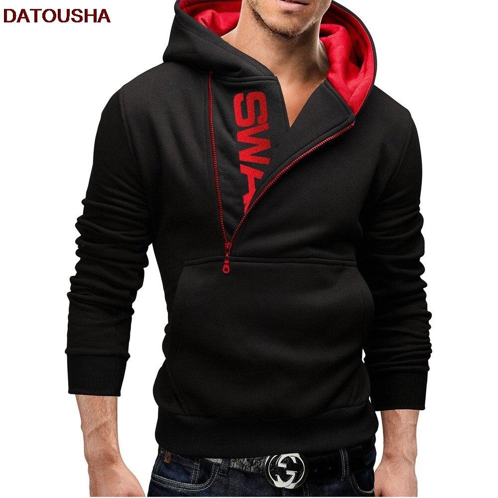 2018 Hot Sale(Top sale)men hoddies Amazons LOGO Zipper colours & Add wool upset Sweatshirts plus size M-6XL