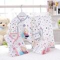 La ropa del bebé 2016 nueva primavera y el verano de algodón recién nacido niño / bebé conjuntos de ropa interior térmica