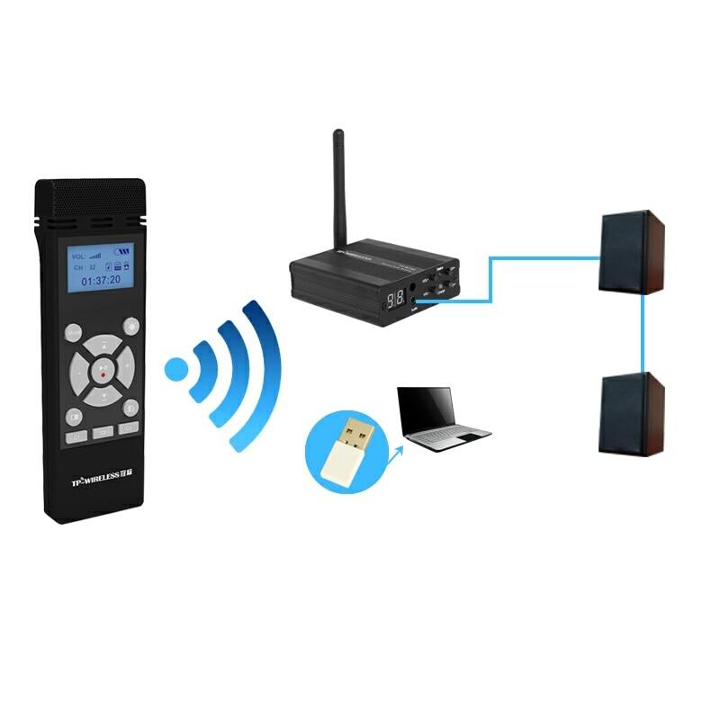 TP-WIRELESS 2.4GHz traadita kaasaskantav mikrofon ja - Kaasaskantav audio ja video - Foto 2