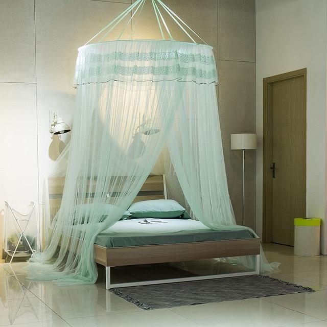 Acheter moustique lit net accroch d me moustiquaire pour lit double queen size - Moustiquaire baldaquin pour lit double ...
