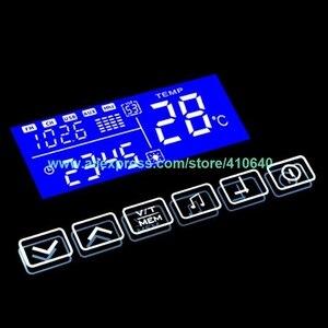 K3015CA interruptor de espejo de luz táctil con Bluetooth Fm Radio temperatura fecha calendario pantalla para baño o armario espejo