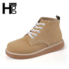 HEE GRAND Women Short Ankle Boots Fashion Brand British Style Lace-up Women Boots Autumn Winter Martin Shoes XWX4421