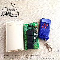 433Mhz DC 12V 3CH Channel Relay RF Wireless Remote Control Switch Receiver Module and RF Remote 433Mhz Transmitter Kit