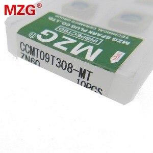 Image 4 - MZG remise prix CCMT09T308 MT ZN60 tournant alésage coupe CNC carbure Cermet Inserts pour le traitement de lacier SCLC porte outil