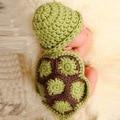 Ребенка зимой шляпу ребенка новорожденный фотографии набор аксессуары для младенцев фото cap девочка hat новорожденных фотосессии маленькая черепаха