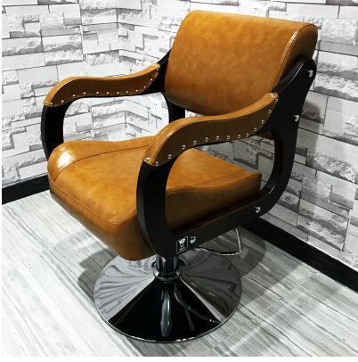 Kommerziellen Möbel Neue Stil Friseur Stuhl Europäischen Stil Einfache Friseur Stuhl Japanischen Friseursalon Spezielle Haar Stuhl Möbel