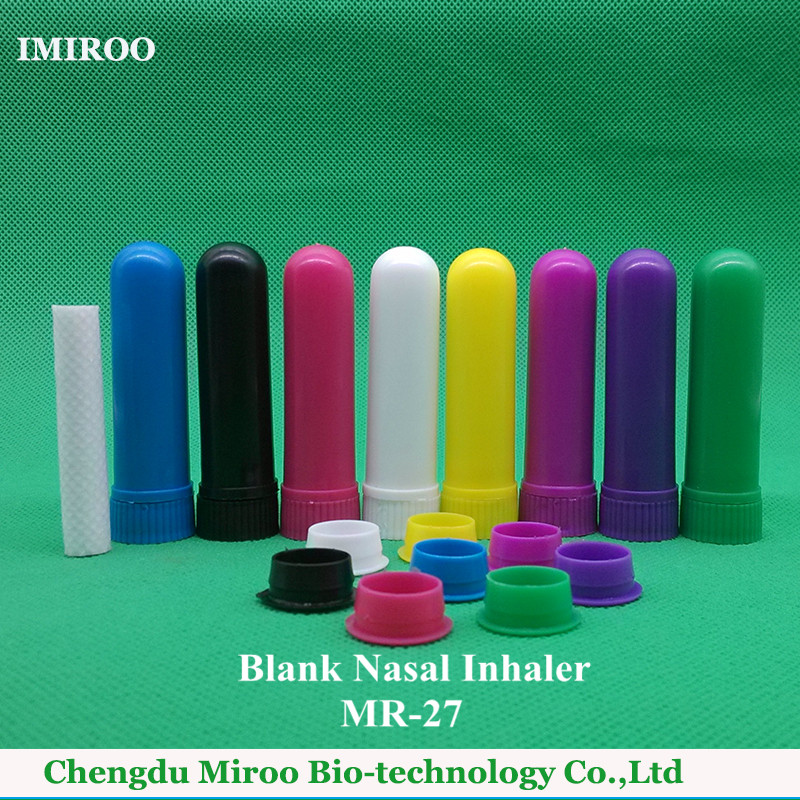 Free Shipping Complete 52sets/lot Portable Refreshing Nasal Cold Inhaler Blank Empty Nasal Inhaler Sticks for Essential Oil kongdy 3 pieces aromatic peppermint inhaler cure stuff nose anti motion sickness nasal inhaler eucalyptus