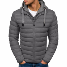 ZOGAA Winter Jacket Men Clothes 2018 New Brand Hooded Parka Cotton Coat Keep Warm Jackets Fashion Coats