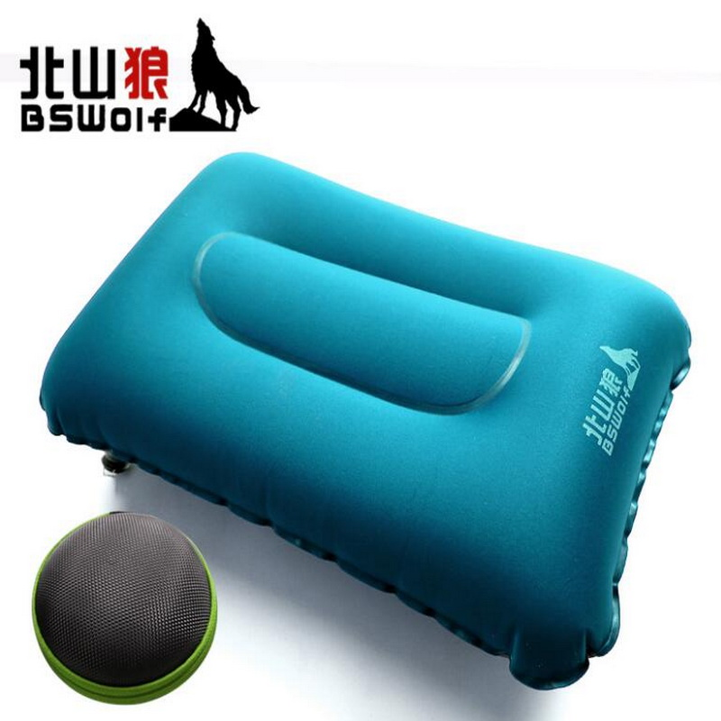 Outdoor travel camping inflatable square pillow, unisex new neck, cushions. Easy to carry