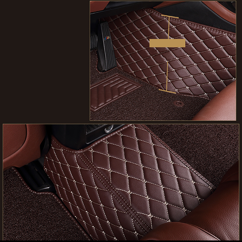 HeXinYan Custom Car Floor Mats for Ssangyong All Models Rodius ActYon Korando Rexton kyron car styling auto accessories in Floor Mats from Automobiles Motorcycles
