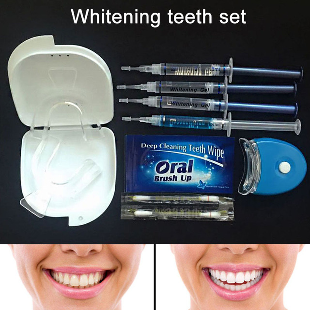 Strong Tooth Whitening Set Teeth Whitening Lamp Bleaching System Low