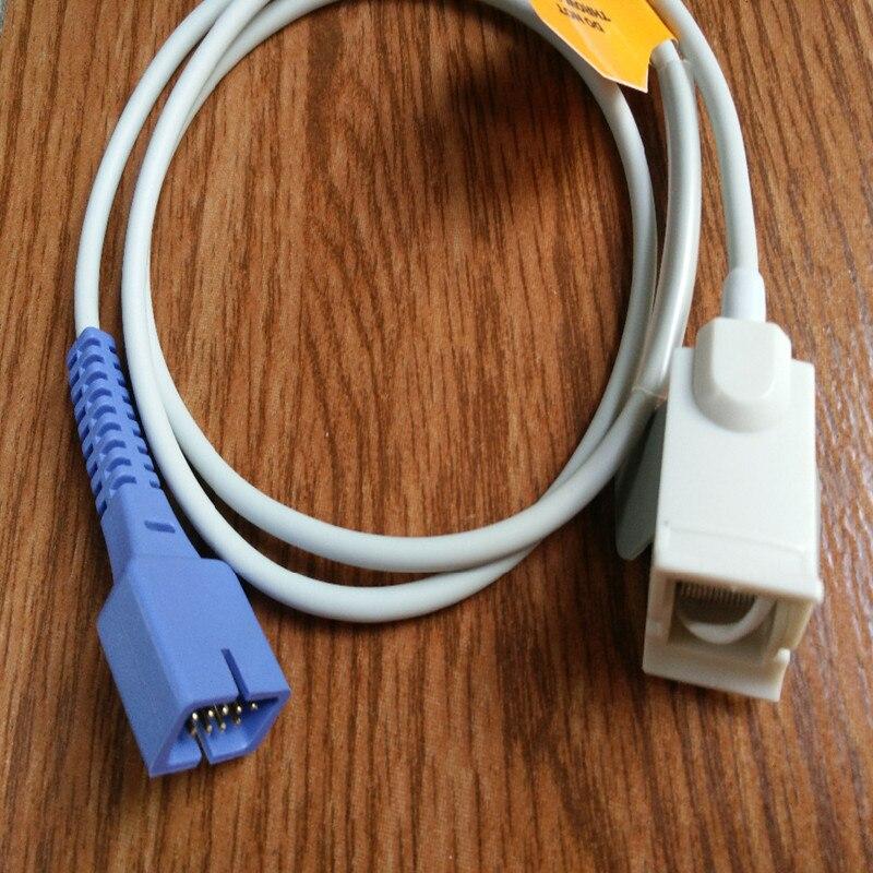 Voorraad Goederen Gratis Verzending Compatibe Voor Nellcor DB9 Pin Met 0 Ximax Tech Pediatrische FingerClip Spo2 Sensor Spo2 Probe TPU1M