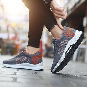 Image 5 - Misalwa 2020ฤดูร้อนแฟชั่นผู้ชายลิฟท์รองเท้าที่มองไม่เห็นเพิ่มความสูง6 CMรองเท้าสบายๆชายรองเท้าผ้าใบHombre