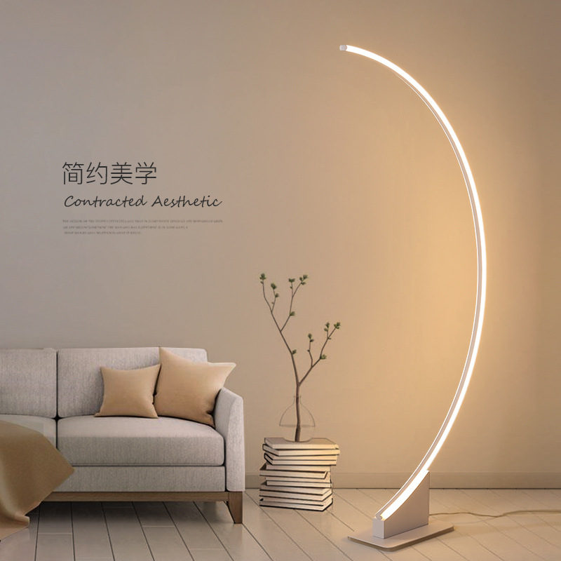 Modern Lamp Floor Led Living Room Lamp Stand Brief Reading Fish Design Floor Lamp Bedroom Led Light For Living Room Dropshipping Floor Lamps Aliexpress