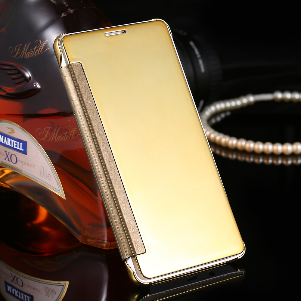 low priced 02ea4 5d3b0 US $4.92 |Clear View Window Cover For Samsung Galaxy A5 Cases Mirror Screen  Flip PU Leather Capa Case For Samsung Galaxy A5 A5000 A500F on ...