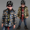 Wholesale 2016 Winter Jackets & Coats For Boys camouflage Fashion Casual Hooded Outwear Parka Down Warm Clothes Unisex Clothing