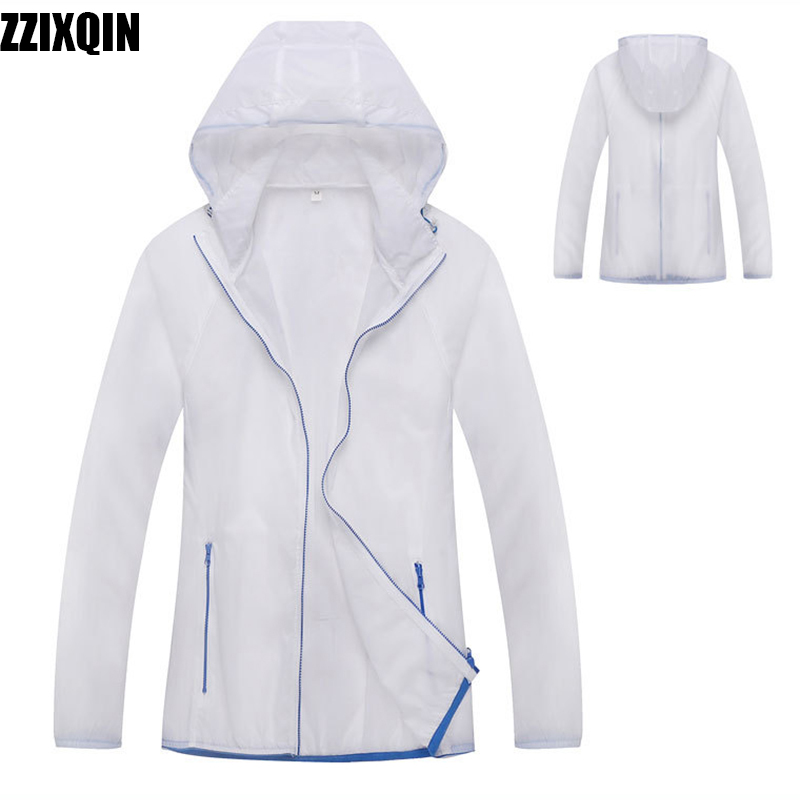 Hooded Waterproof Windbreaker Raincoat Jacket 2018 new Fashion Sports Outdoor Riding Loose Delicate Comfortable Women RainWear