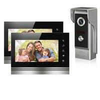 Wired Video Door Phone Intercom Doorbell System 7 TFT LCD Monitor Screen With IR COMS Outdoor