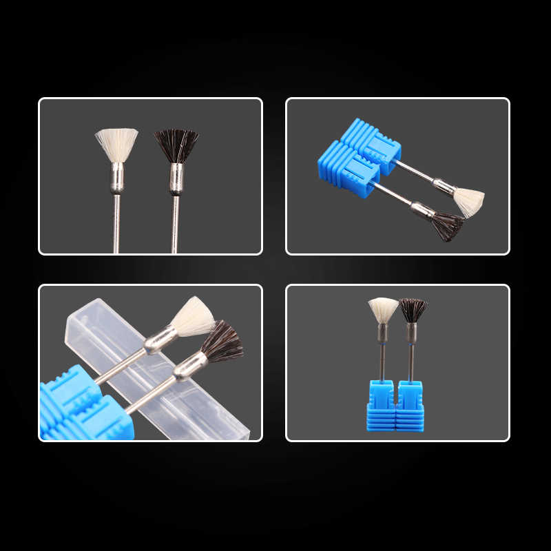 Nail Drill Bits Brush Machine for Manicure Cutters For Manicure Nozzle for Manicure Apparatus Milling Cutter for Nails Tool