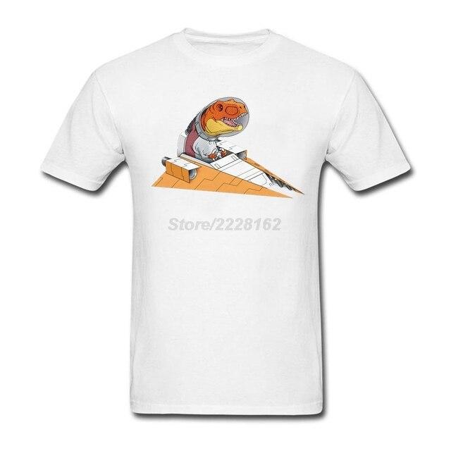 men Loose Team Shirts Creator Dragon Pilot Shirt with Triumphant ...