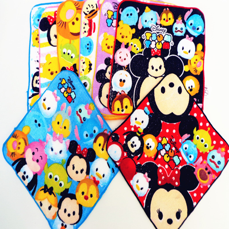 wholesale 100pcs 100% cotton hand towel 20cmx20cm lovely pattern random delivery/pls contact for more styles