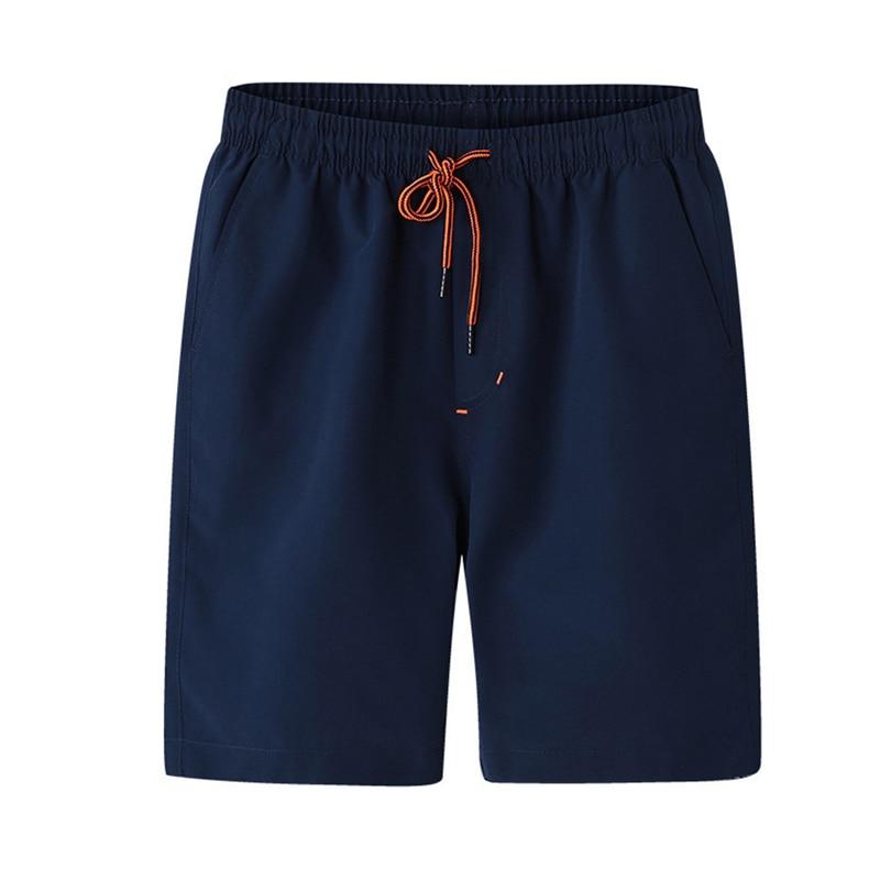 2018 Shorts Men Summer Sportswear Shorts Fashion Sweatpants Plus Size Joggers Mens Solid Leisure Beach Short Trousers Bermuda