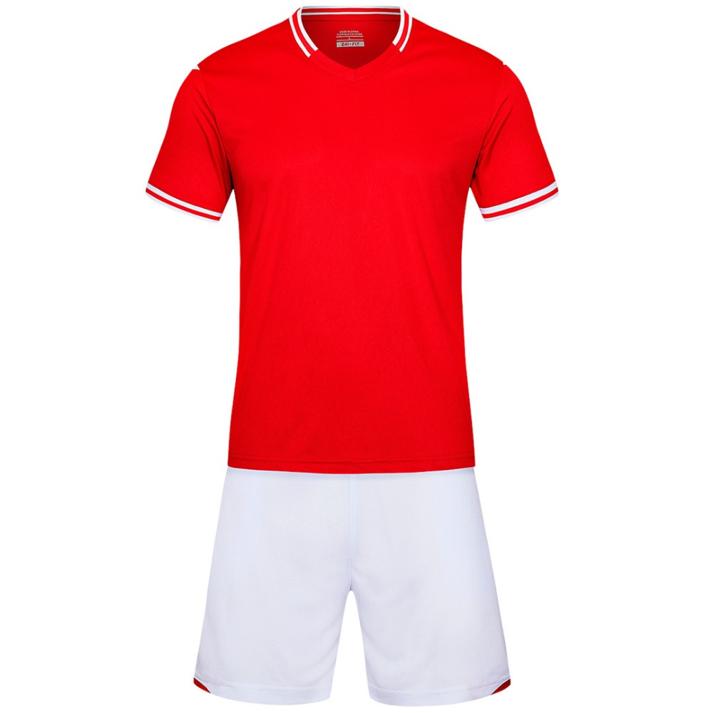 gules Men short sleeve2018 color size tracking Purple kits jersey adult soccer football suit 6189