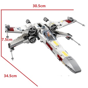 Image 3 - Starwars 05004 05145 10900 X Wing Star Starfighter Fighter Building Blocks toys for Children Compatible All Brand Star Plan Wars