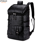 VICUNA POLO High Capacity Leather Men Rucksack For Traveling Large Size Mens Hiking Sport Travel Backpack Men's Casual Daypacks