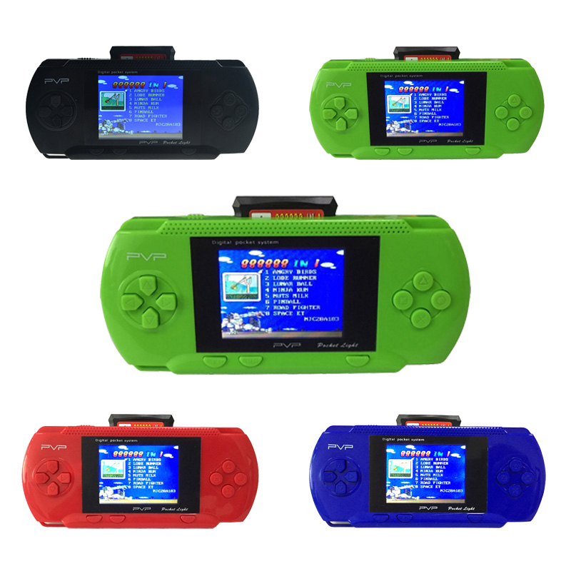 PVP 3000 Handheld Game Player Portable Video Console 2.8'' LCD Retro Hand Held Console Games For Children