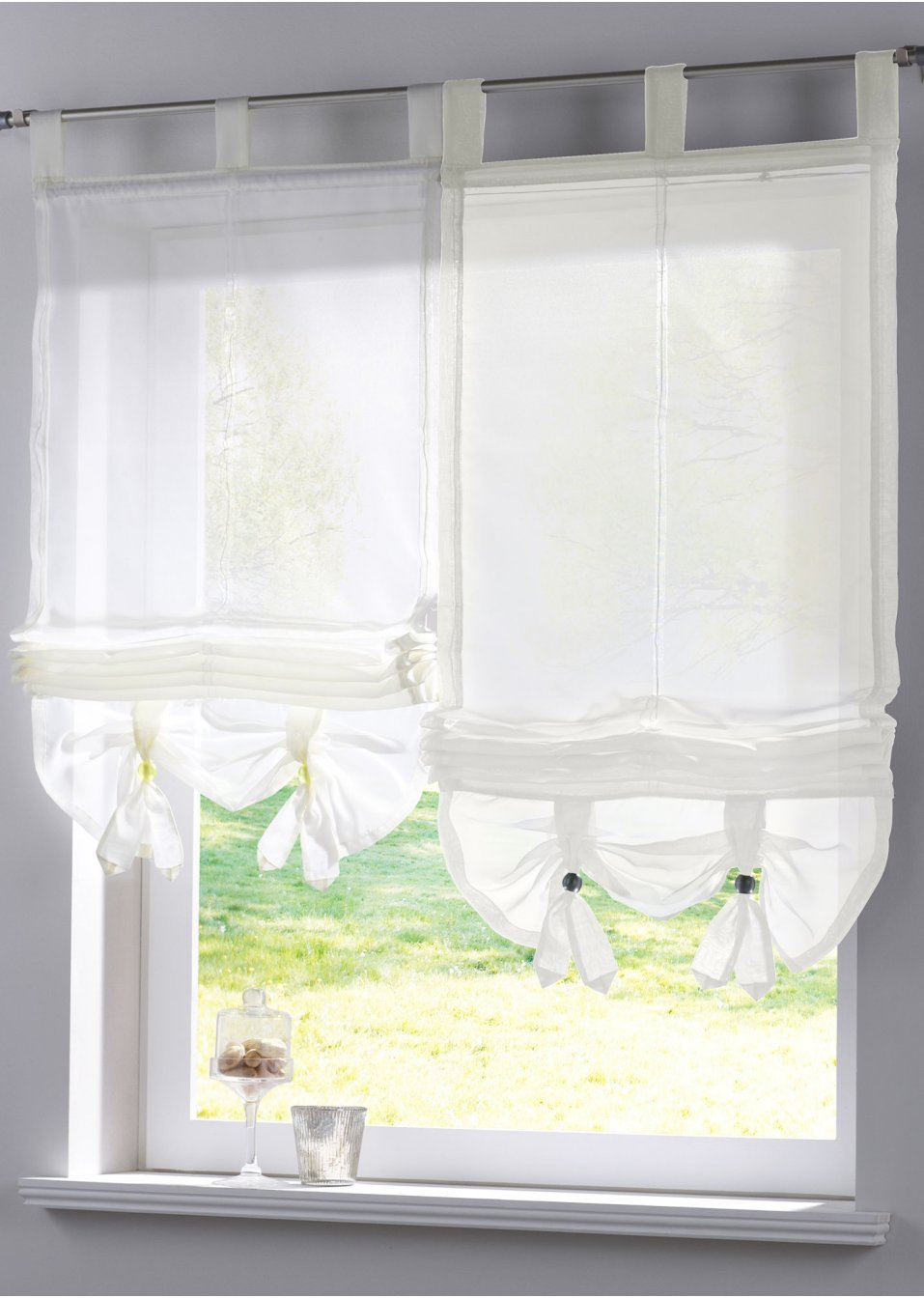 cortina corta ventana
