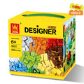625 Pcs Blocos De Construção Da Cidade Bricks DIY Brinquedos Para Crianças Tijolos de Bloco de Construção Crianças Brinquedos Educativos Wange Compatível Com Legoe