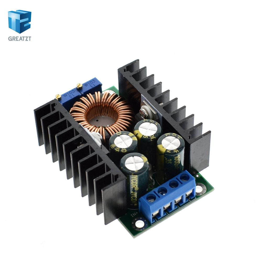100% True 1pcs Electric Unit High Quality C-d C Cc Cv Buck Converter Step-down Power Module 7-32v To 0.8-28v 12a 300w Xl4016 Refreshment Active Components